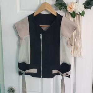 Rick Owen's jacket vest size 10